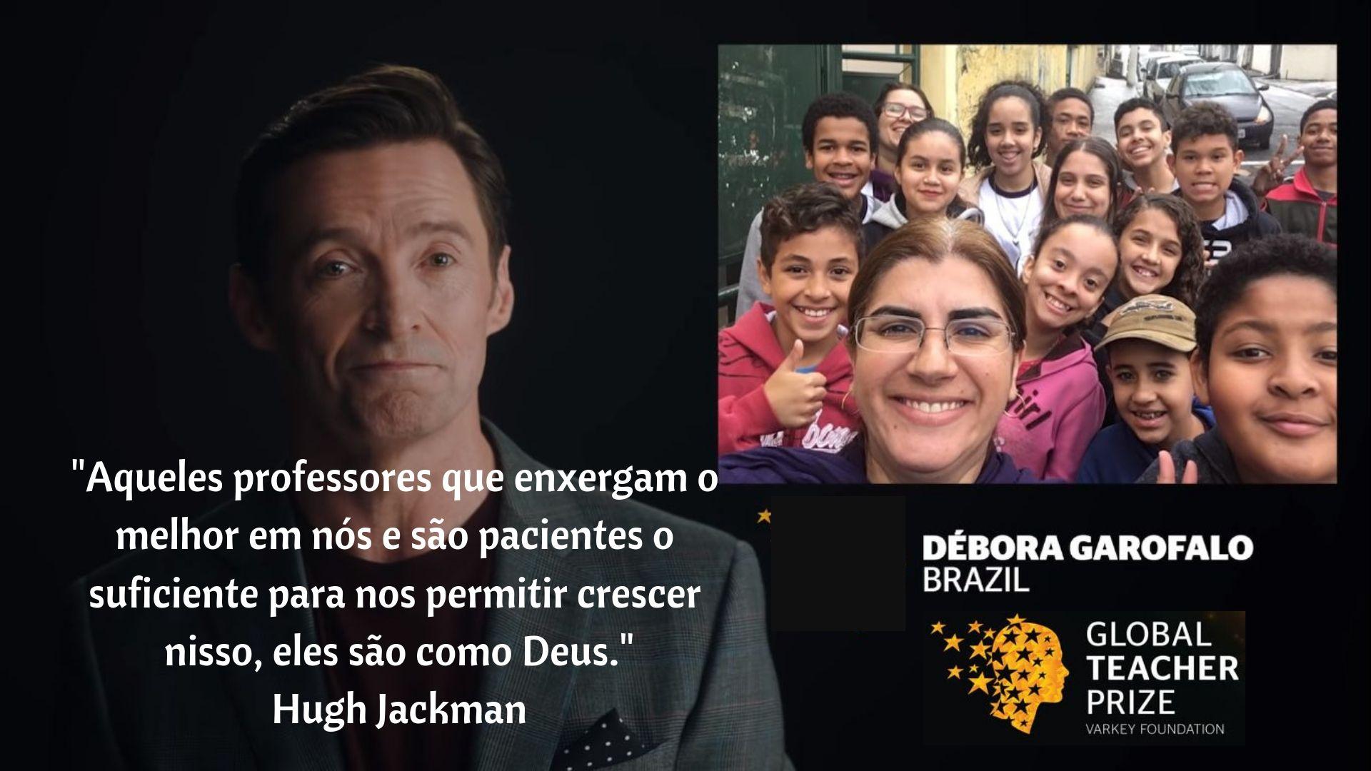 Débora Garofalo – Global Teacher Prize 2019
